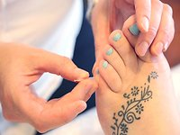 Frequently Asked Questions. Me needling foot tattoo
